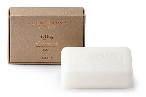 Acca Kappa 1869 Seife 100 g Reinigt ideal & ist feuchtigkeitsspendend