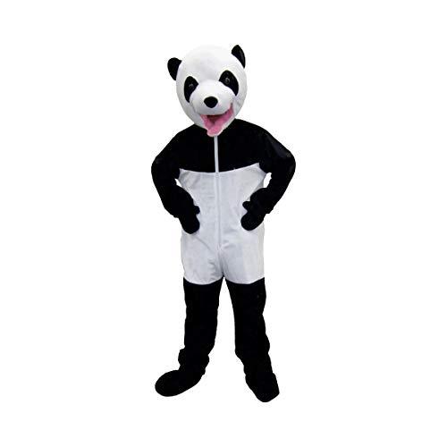 Dress Up America Niedliches weißes u. Schwarzes riesiges Panda-Kostüm (Maskottchen Kostüm Mädchen)