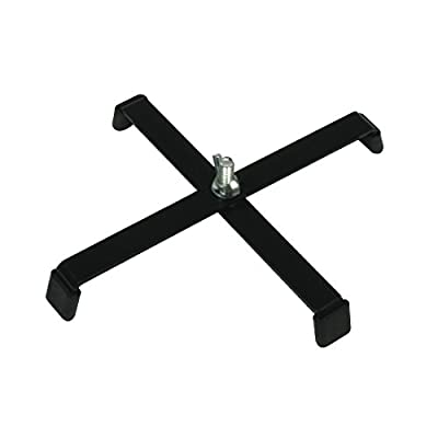 American DJ Floor Stand with 4 Rubber Feet - Black