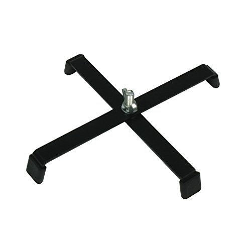 american-dj-floor-stand-with-4-rubber-feet-black