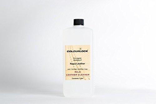 Limpiador de piel suave Colourlock para la limpieza de asientos de coche,...