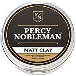 Cera mate de Percy Nobleman - Cera moldeable para el cabello de caballero de 100 ml