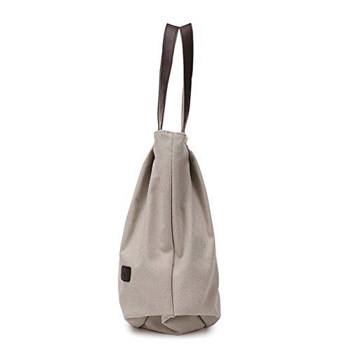 borsa di tela Ms./borsa a tracolla coreano/Semplice big bag selvaggio/borsa di tela Casual-A A