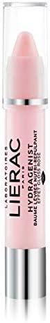 Lierac Hydragenist Balsamo Labbra Nutriente e Rimpolpante, Effetto Gloss Rosé, per Tutti i Tipi di Pelle, Form