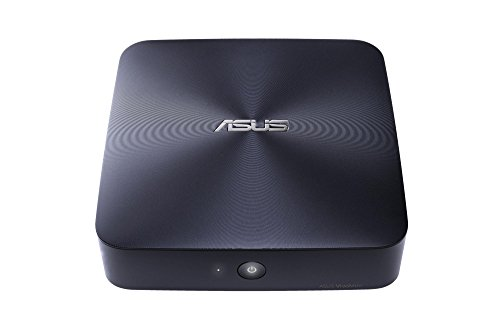 Asus Barebone VivoMini UN65-M023M Mini-PC (Intel Core i3-6100U, ohne Speicher, ohne HDD, WIFI AC, Bluetooth 4.0, VESA, Barebone, kein Betriebssystem) midnight blau