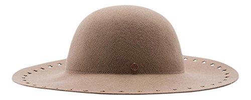 ESPRIT Damen Strickmütze aus hochwertiger Wolle, Gr. Small, Beige (LIGHT TAUPE 260)