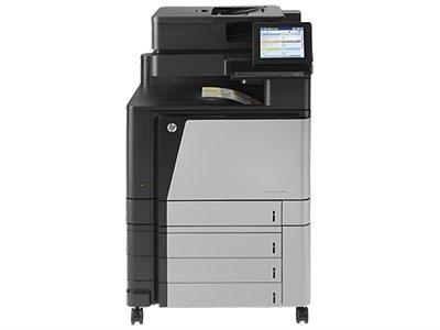 HP Laserjet Enterprise Flow M880z Multifunktionsgerät (Laser, Farbe, Farbe, 46S, 1200x 1200DPI, 46Seiten pro Minute) grau