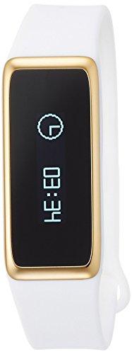 MYKRONOZ Fitnessarmband Uhr Touchscreen IP67 Wasser Resistent BT, Weiß, KRZEFIT2