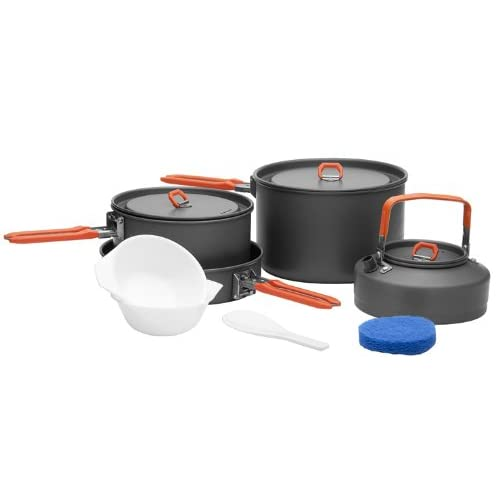 31FKTbli1JL. SS500  - Fire-maple 4-5 Person Camping Cookware Cooking Pot Outdoor Pot Sets