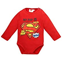 Superman Body para Bebés