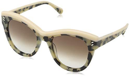 Stella mccartney sc0021s 002, occhiali da sole unisex-adulto, marrone (002-avana/brown), 51
