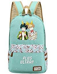 Siawasey My Hero Wissenschaft Anime Boku No Hero Wissenschaft Cosplay Rucksack Tagesrucksack aus Segeltuch Tasche Large 1