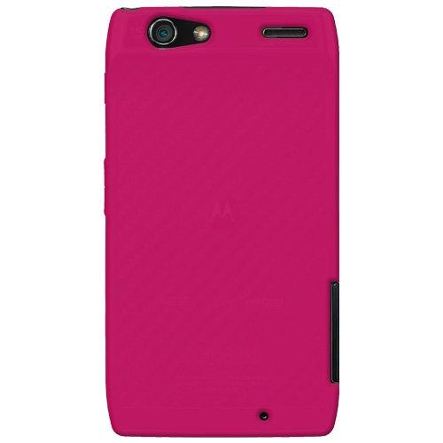 Amzer Silikon-Schutzhülle für Motorola RAZR XT910 Hot Pink