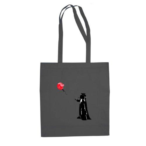 Vader Death Star Balloon - Borsa Di Stoffa / Borsa Grigia