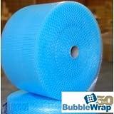 Azul Pequeño Rollo de plástico de burbujas, burbujas–Tamaño: 500mm x 100m–antiestática–* * * Entrega Al Día Siguiente a Reino Unido * * * Para Ver Nuestro Catálogo de emocionante Amazon búsqueda > wellpack Europa