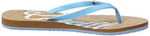 ONeill FW Logo Cork Flip Flops, Tongs Femme Blau (5023 Arctic Blue)