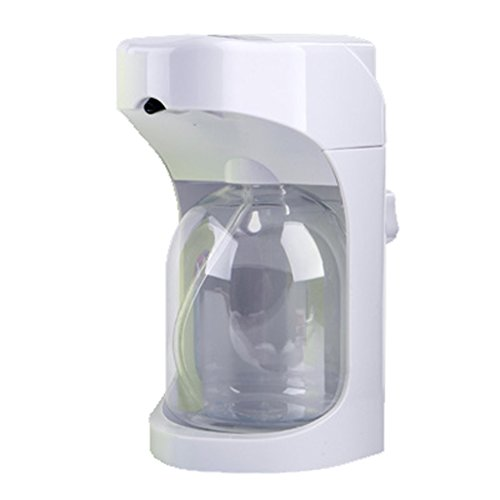 XUE- / Distributeur automatique de savon en mousse, activation sans toucher avec commandes de mousse ajustable Capacité de 500ML pour la cuisine (blanc)