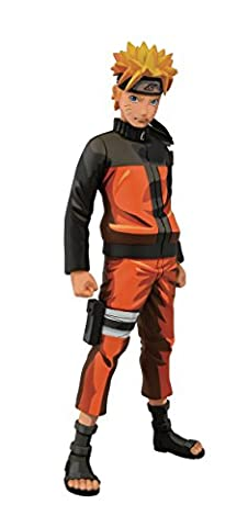 Banpresto Naruto Shippuden Naruto Master Stars Piece Manga Dimensions Figure, 9.1