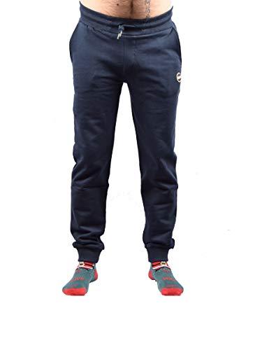 ac51f79e6f0032 COLMAR ORIGINALS Pantaloni Jogging Colmar In Cotone 8254R Dark Blue Size:XL