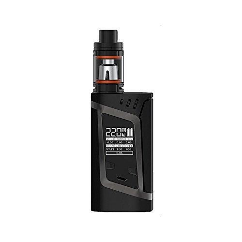 Preisvergleich Produktbild ORIGINAL SMOK Alien TFV8 Baby 2mL Set (Schwarz Grau) Erforderliche 2X 18650 High Amp Akku