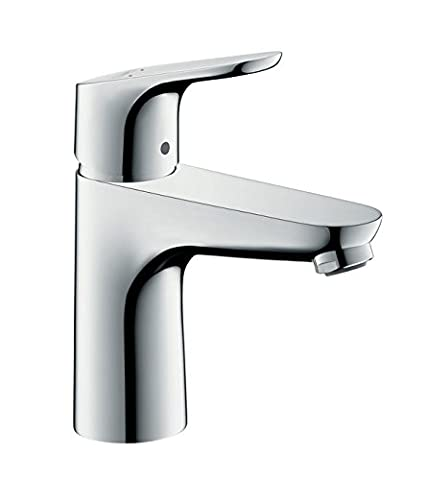 hansgrohe Focus Single lever basin tap 100 with pop-up waste, chrome 31607000