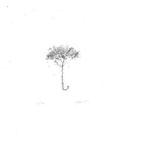 Stamperia D'Arte Busato: 'Ombrellino' #2 - Marina Marcolin - incisione a ceramolle stampata a mano con il torchio a stella. Numerate e firmate dall' artista.