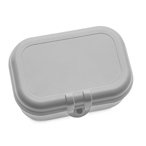 koziol Lunchbox Pascal S, Kunststoff, cool grey, 15.1 x 10.8 x 6 cm (Aus Kunststoff Lunch-box)