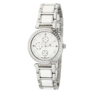 Stella Maris ST5628-Orologio da donna con cinturino in ceramica, colore: bianco con quadrante, colore: bianco