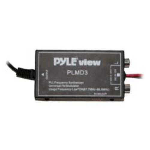 Pyle plmd37Kanal FM Wired Stereo-FM-Modulator Wired Fm-modulator