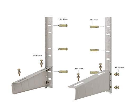 AMPEREUS Split Ac Air Conditioner Outdoor Unit Wall Mounting Bracket