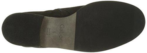 Gabor Damen Comfort Sport Stiefel Schwarz (47 Schwarz (Micro))