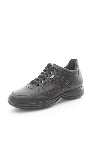 Lion 11140 Sneakers Uomo Pelle Nero Nero 43