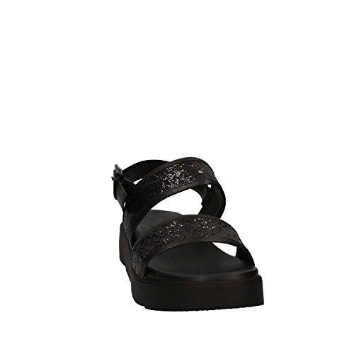 GRACE SHOES 65441 Sandalo Donna Nero