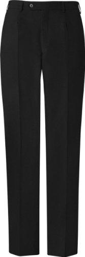 GREIFF Herren-Hose Anzug-Hose BASIC comfort fit - Style 1324 Noir