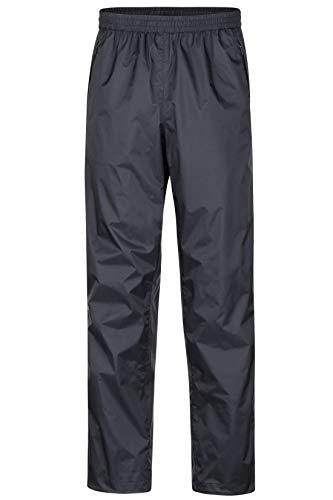 Marmot Herren PreCip Pant Short Hardshell Regenhose, Winddicht, Wasserdicht, Atmungsaktiv, Black, M