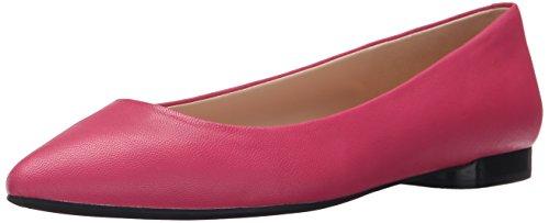 Nine West Onlee Leather Ballet Flat pink