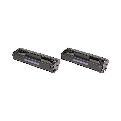 RudyTwos 2X Ersatz für HP 06A Toner Einheit schwarz kompatibel zu Laserjet 3100, 3100xi, 3100se, 3150, 3150xi, 3150se, 5L, 5LFS, 5L Xtra, 6L, 6LSE, 6LXI -