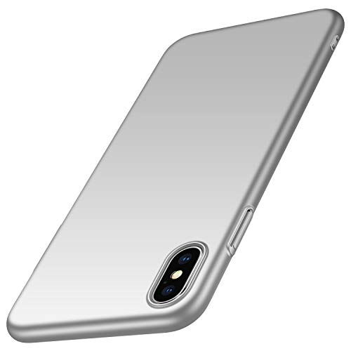 anccer Coque iPhone XS Max [X Love SÉRIE] Ultra Fine Matte Case, Anti-Rayures Protection Rigide Cover Simple Élégant Extra Slim Mince Housse Étui pour Apple iPhone XS Max