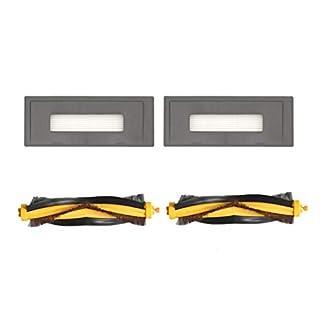 Hunpta@ Zubehör für Staubsauger für ECOVACS OZMO 930 Staubsauger Filter- und BorstenbürsteFilter- und Borstenbürstenersatz Staubsauger (A)