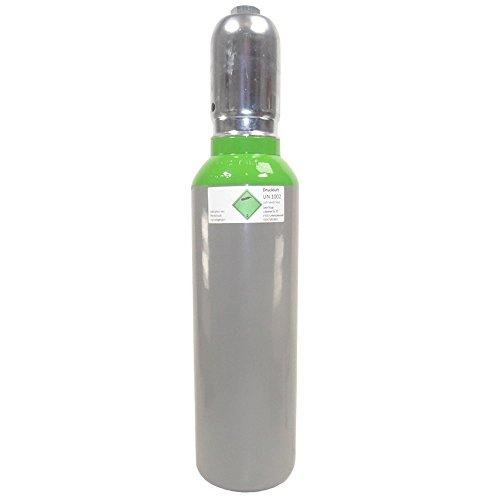 Preisvergleich Produktbild Druckluft 5 Liter 300 bar fabrikneue gefüllte Druckluftflasche Pressluft Eigentumsflasche 300 BAR - von Gase Dopp