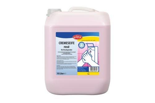 Cremeseife Rosa - dermatologisch getestet - pH-neutral - 10 Liter
