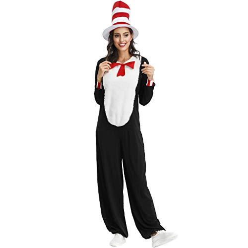 Creed Assassin's Billig Cosplay Kostüm - Sllowwa Cosplay Kostüm Unisex Tier Schlafanzug Cosplay Pyjamas Halloween Karneval Kostüm Loungewear(Schwarz,Large)