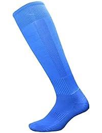 Kairuun Calcetines de Fútbol para Adulto Niños Largas Calcetines de Compresión Deportivas de Elástico Transpirable