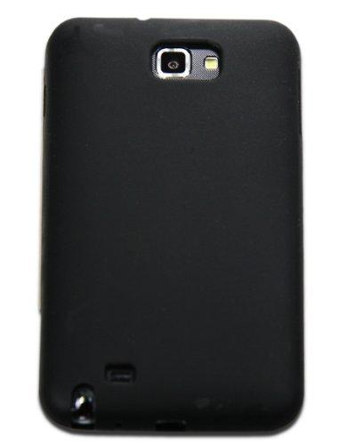 Luxburg In-Colour Design Custodia Cover per Samsung Galaxy Note GT-N7000 colore Nero, in silicone