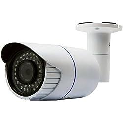 JVS-N5FL-DD / Jovision LAN IP Bullet Kamera für Indoor und Outdoor, 2 MegaPixel, Full HD, 1080P, Überwachungskamera, Netzwerkkamera, Bewegungserkennung, Email Alarm, Spritzwasser und staubgeschützt (IP66), sehr gute Bildqualität