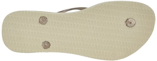 Havaianas Slim 4000030, Infradito Donna Beige (Sand Grey/Light Golden 2719)