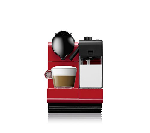 Nespresso Lattissima+ EN 521.R Macchina per Caffè Espresso, Colore Rosso - 3