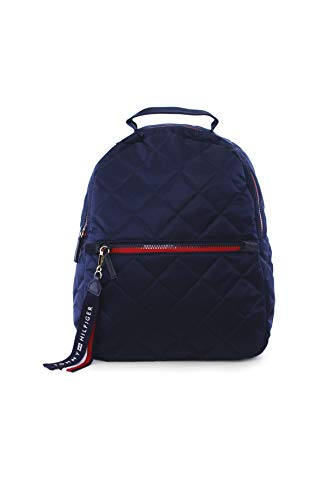 Tommy Hilfiger Damen Rucksack, Quilted Backpack, Size: 35 x 25 x10cm