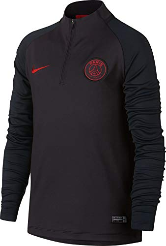 nike performance paris saint-germain trainingsjacke wolf grey dark obsidian