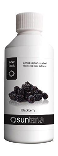 Suntana Blackberry parfumé Spray Tan (Après foncé 14%) - 250ml Solution